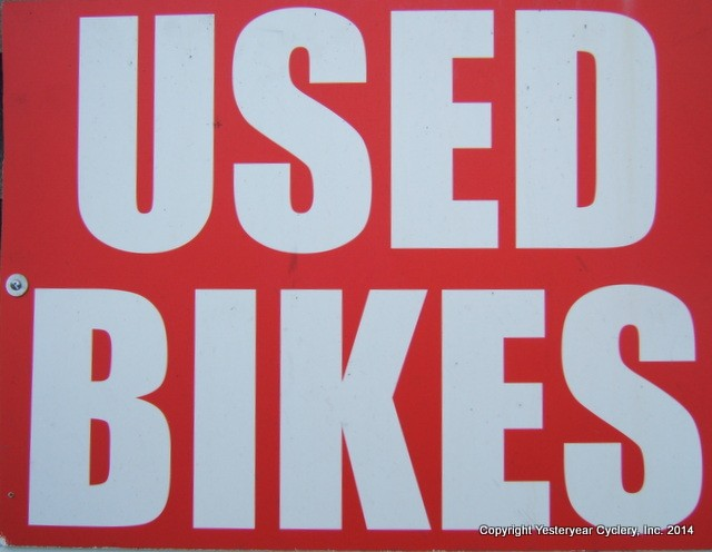 USEDBIKES SIGN